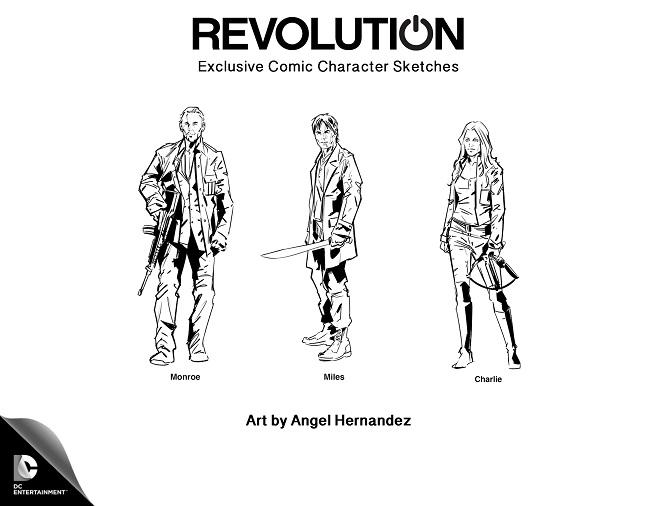 bande dessinée Revolution